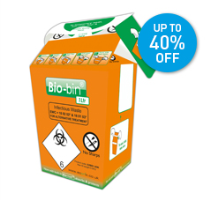 Bio-bin Infectious Waste Bins UP TO 40% OFF