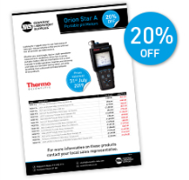 Thermo Scientific Orion portable meters SAVE 20%