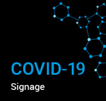 Stop The Spread COVID-19 Signage Download PDF