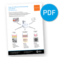 Tools for Efficient 3-Dimensional Cell Culture Reference Guide VIEW PDF